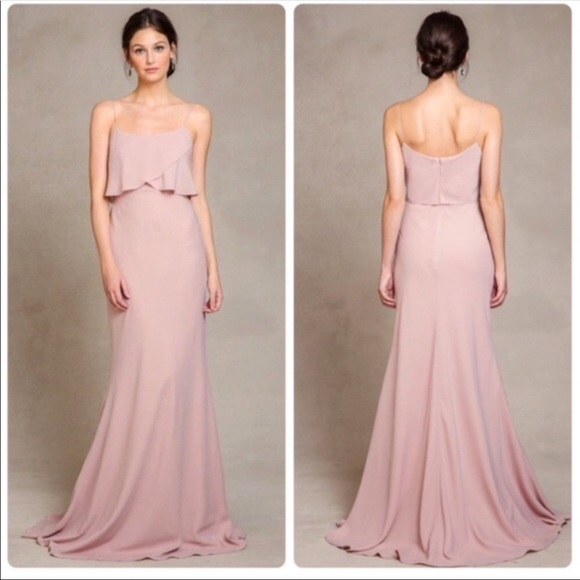 7eea831c9ff Bridesmaid Jenny Yoo Blake Crepe De Chine Dress
